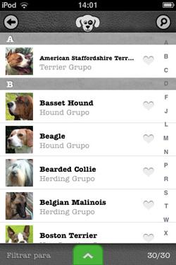 iKnow Dogs - Lista de Raças