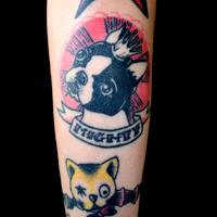 Tatuagem de Cachorro