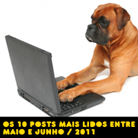 Os 10 posts mais acessados maio e junho