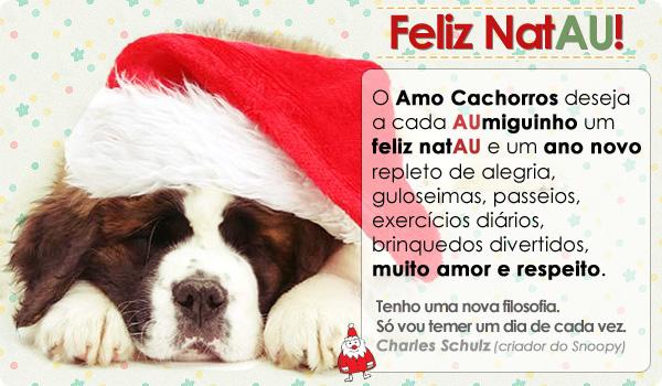 Feliz Natal do Amo Cachorros