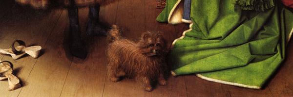 'The Arnolfini Marriage', de Jan Van Eyck (1434)