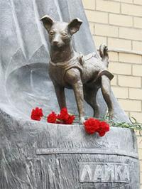 Monumento em homenagem a Laika