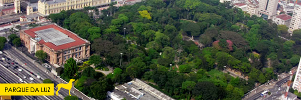 Parque da Luz - Esse parque em SP aceita cachorros! Saiba mais no post.