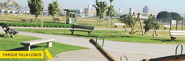 Parque Villa-Lobos  - Parques e praças em São Paulo que aceitam cachorros! Saiba mais no post.