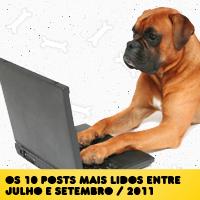 Posts mais acessados entre Julho e Setembro/2011