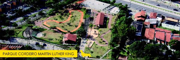 Parque Cordeiro Luther King  - Esse parque aceita cachorros! Saiba mais no post.