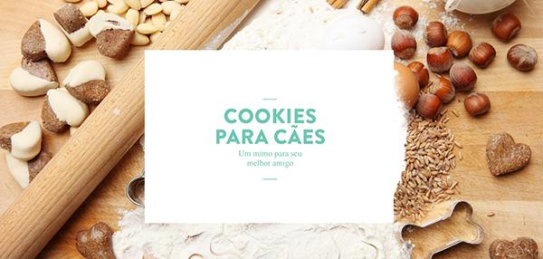 Cookies para cachorros - Para quem ama cachorros